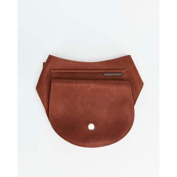 Festival Pouch - Tan&Silver - Front
