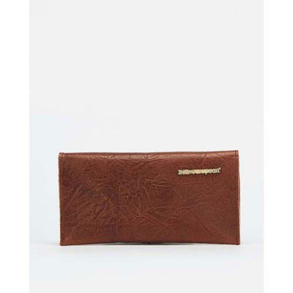 Case/Cover - Tex Soft Brown&Gold - Back