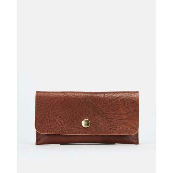 Case/Cover - Tex Soft Brown&Gold - Front