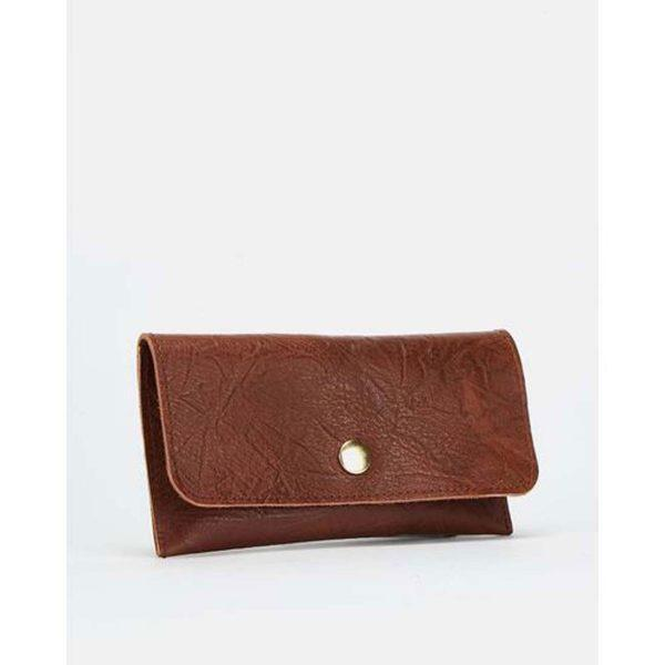 Case/Cover - Tex Soft Brown&Gold - Side front