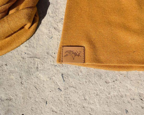 High Top Beanie - Gold - Front 1