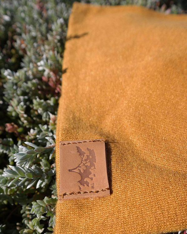 High Top Beanie - Gold - Front 3
