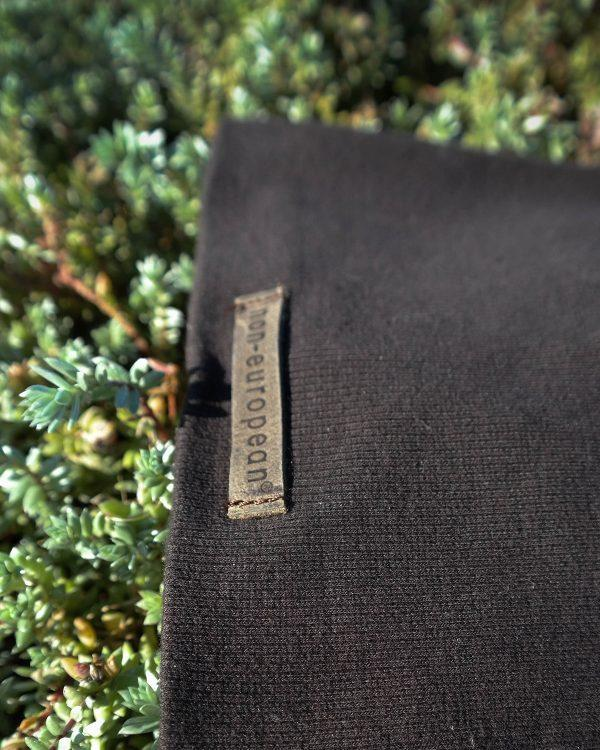 Kids Beanie - Dark Brown - Detail 2
