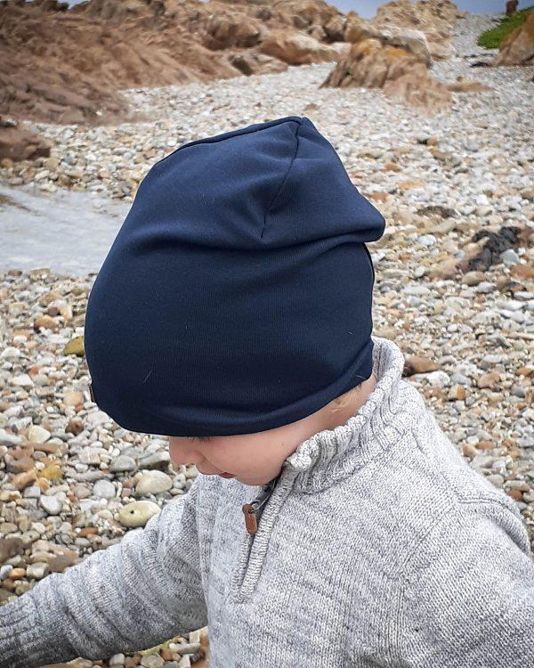 Kids Beanie - Teal- Lifestyle shot 2