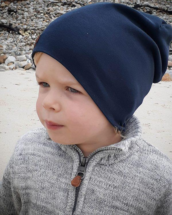 Kids Beanie - Teal - Side front 1
