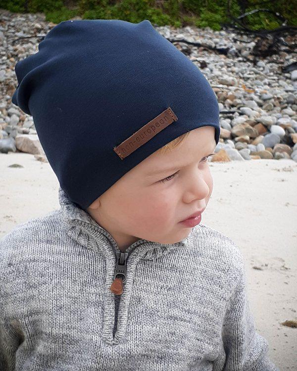 Kids Beanie - Teal - Side front 2