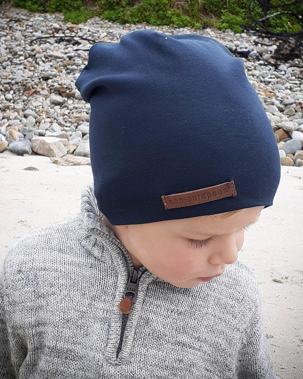 Kids Beanie - Teal - Side front 3