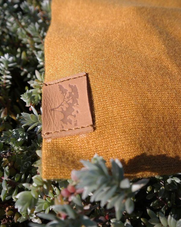 Baby Beanie - Gold - Front