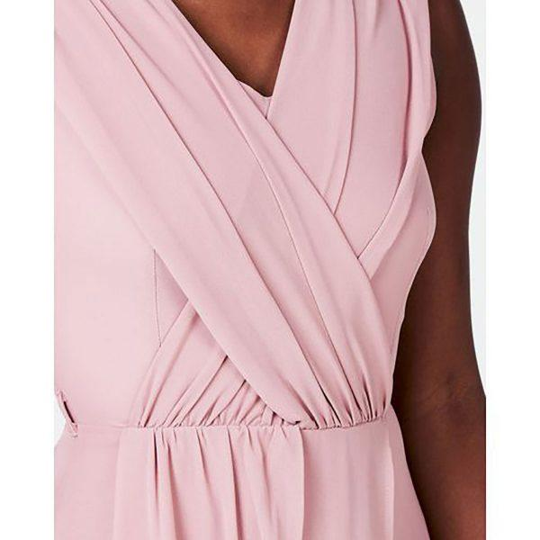 Bridesmaid Gown - Misty Rose - Detail 2