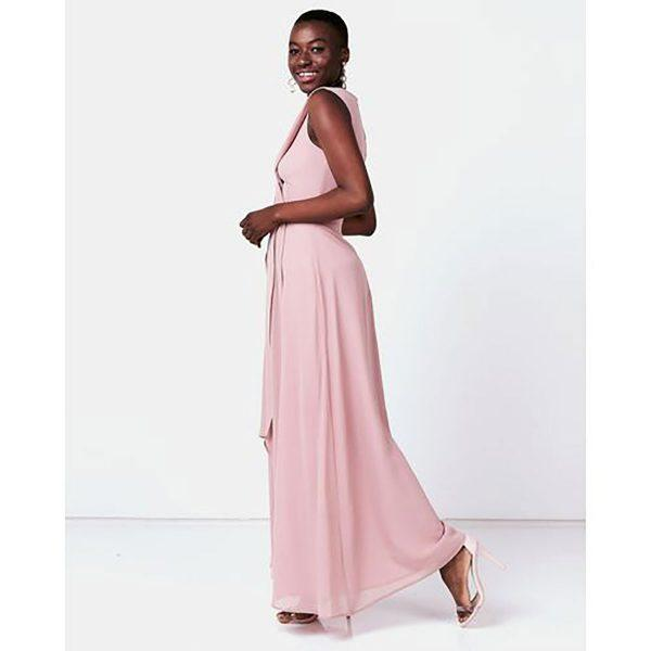 Bridesmaid Gown - Misty Rose - Lifestyle shot