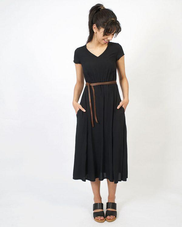 Casual Dress - Black - Lifestyle shot 2