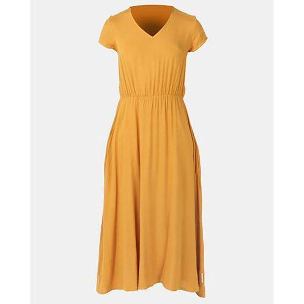 Casual Dress - Ocher - Detail 1