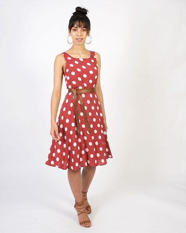 New Twist - Rose Tan Polka - Lifestyle shot 2