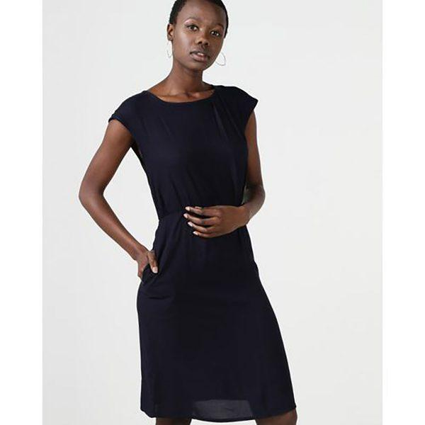 Day Dress - Navy - Front