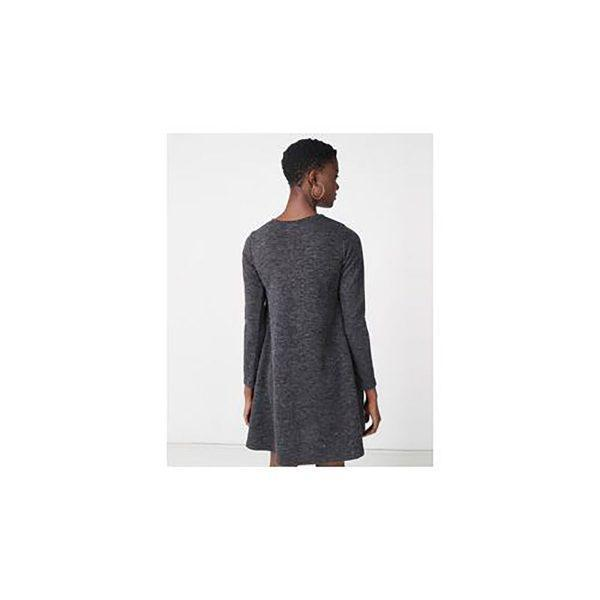Autumn Aline - Charcoal Mohair - Back
