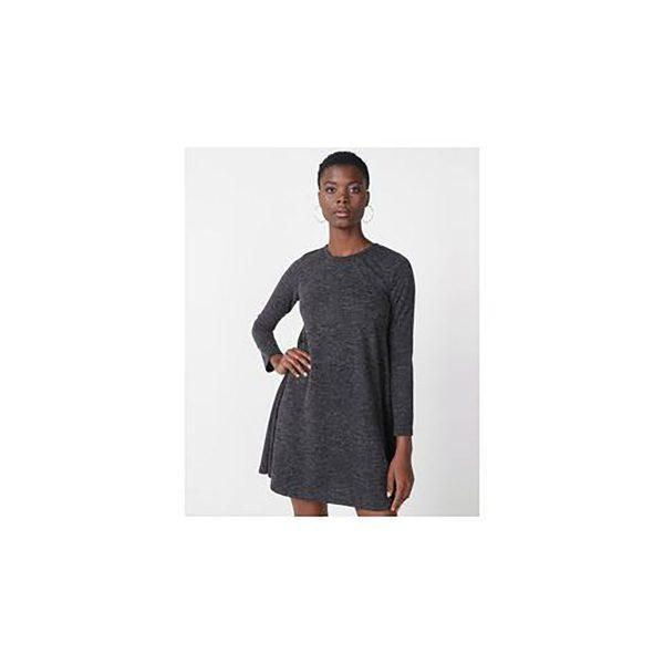 Autumn Aline - Charcoal Mohair - Front