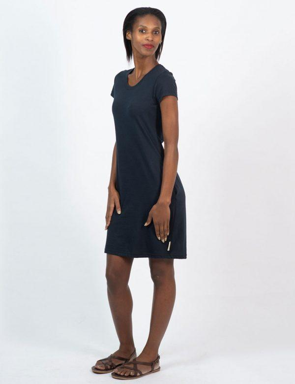 Tee Dress - Navy - Lifestyle shot