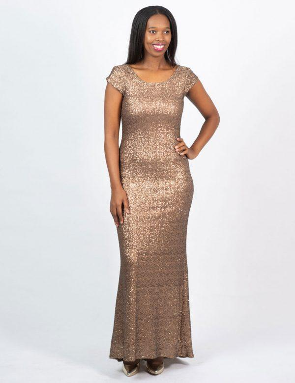 Elegant Evening Gown - Yesteryear - Front