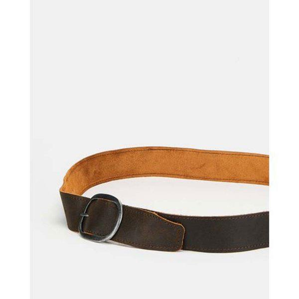 Oval Clasp Belt - Vintage Black&Zinc Black - Lifestyle shot