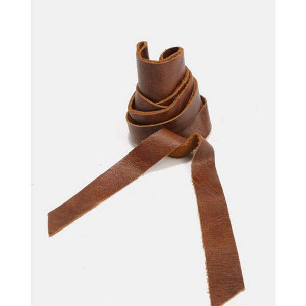 Obi Belt - Soft Brown - Front