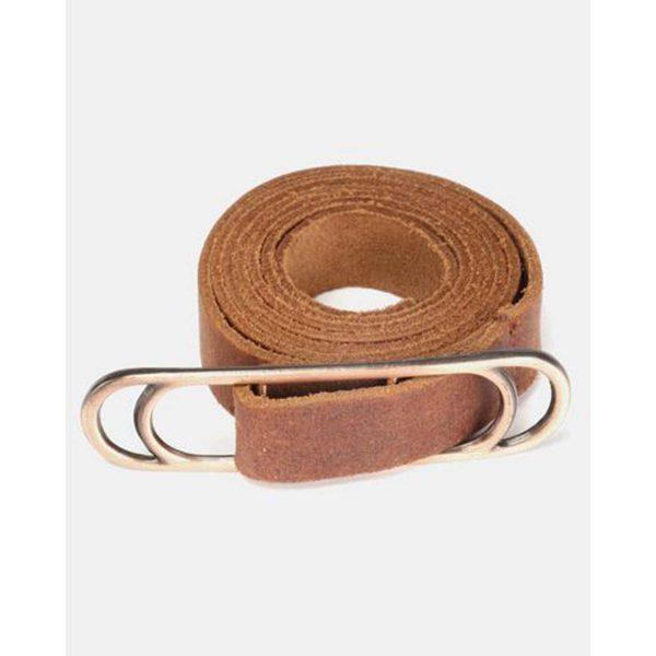 Slider Belt - Dark Tan&Br Ant Copper - Front