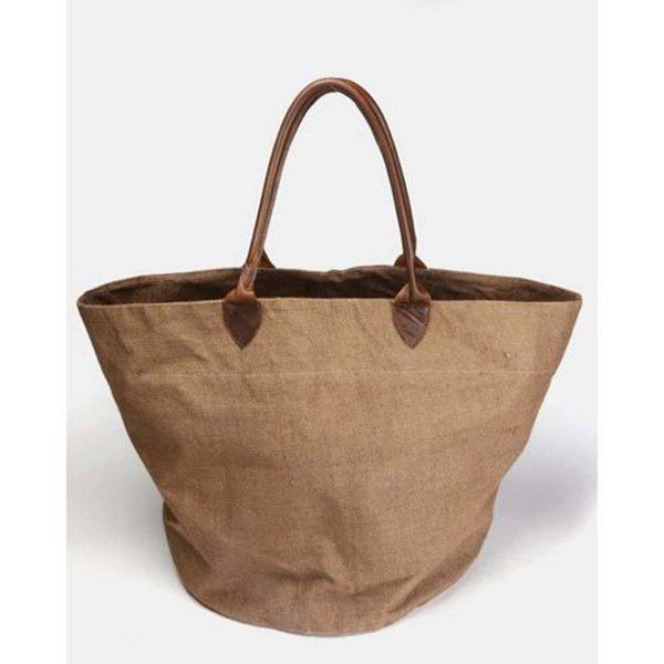 Basket Bag - Brown&Dark Brown - Front 1