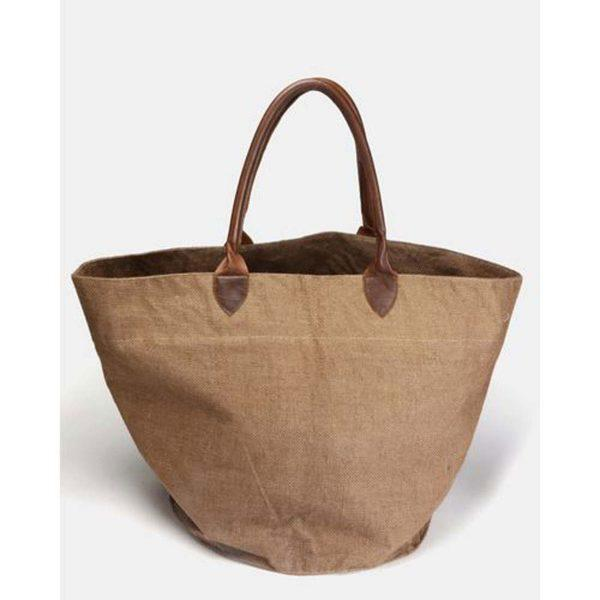 Basket Bag - Brown&Dark Brown - Front 2