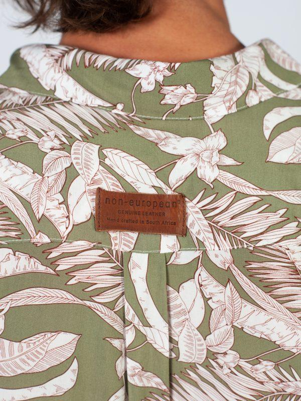 Summer Shirt - Palm Beach - Detail 2
