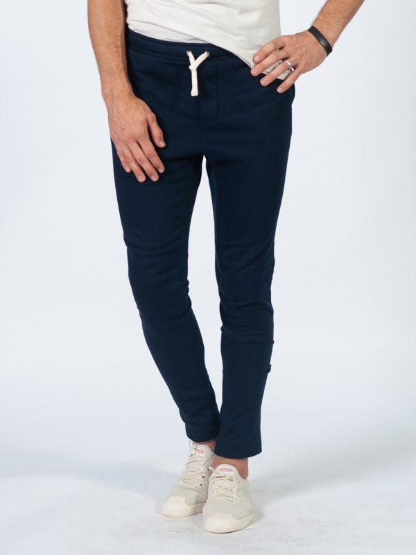 Male Skinny Jogger - Deep Navy - Front
