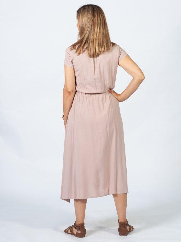 Casual Dress - Nude - Back