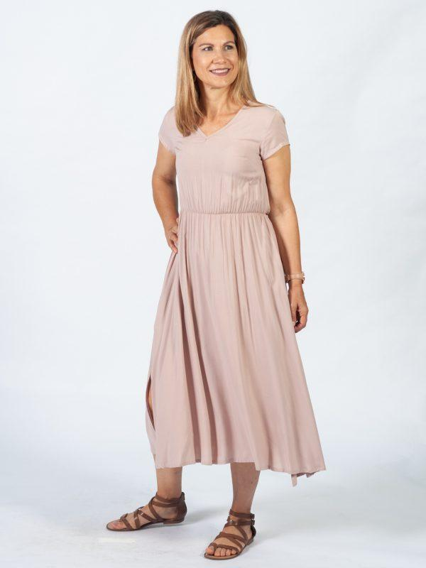 Casual Dress - Nude - Side