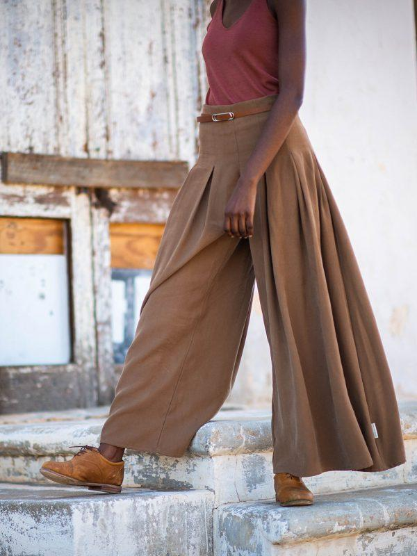 Culotte - Tobacco - Side Front
