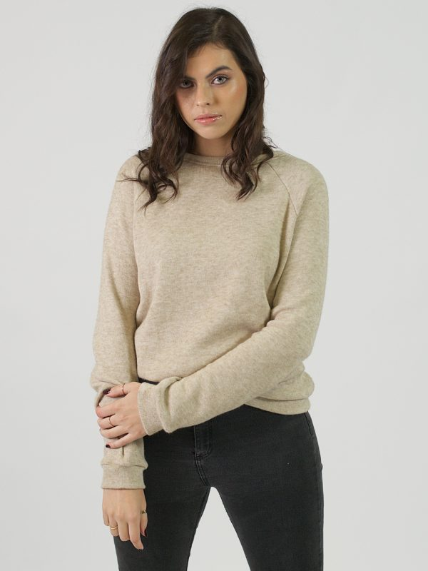 Unisex Jersey - Sand - Front