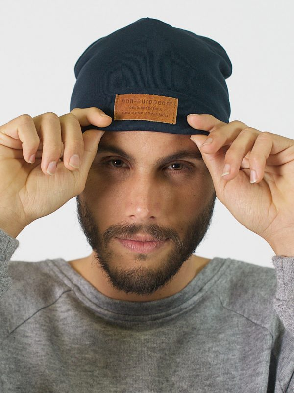 High Top Beanie - Teal - Front 3