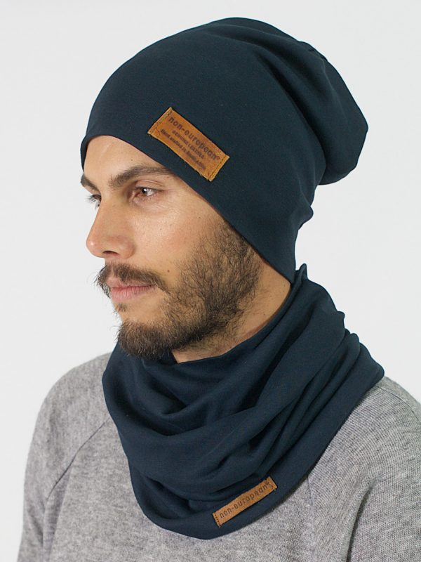 High Top Beanie - Teal - Front 4