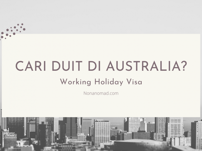 syarat working holiday visa australia
