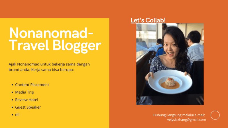 kerja sama travel blogger indonesia nonanomad