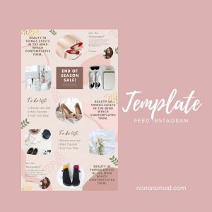 template feed instagram 2