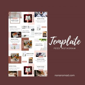template feed instagram 3