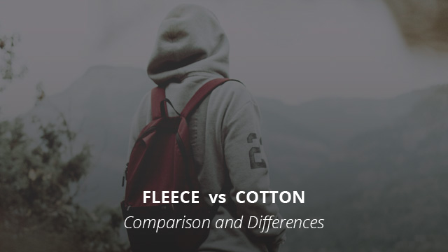 Fleece Vs Cotton Comparison And Differences Norway Geographical