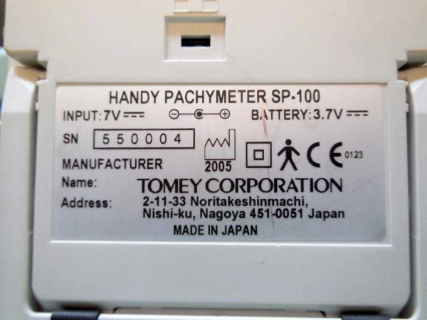 Tomey SP-100 Handheld Pachymeter