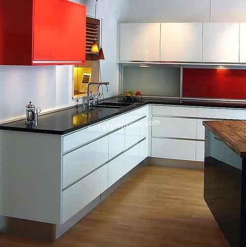 membuat kitchen set