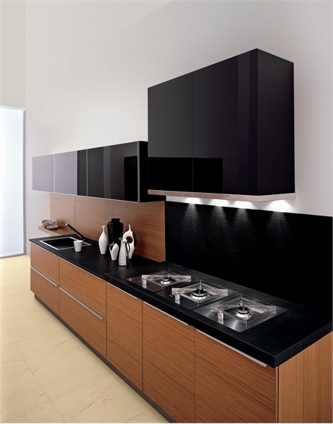 kitchen set minimalis sederhana