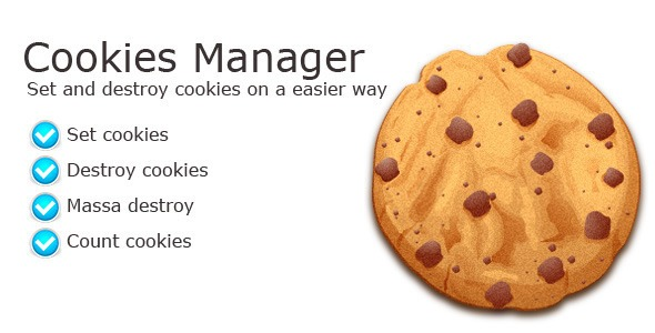 Download Free Cookies Manager Class – PHP Script