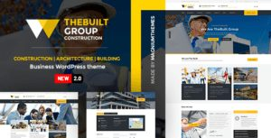 TheBuilt – Construction and Architecture WordPress theme