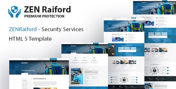ZenRaiford – Security Services HTML Template