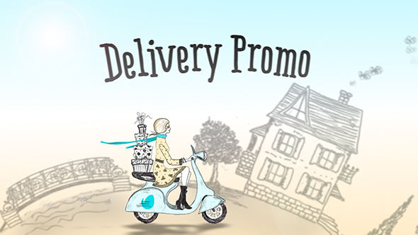 Delivery Promo | After Effects Template Free Download