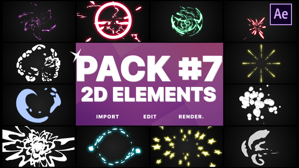 Flash FX Elements Pack 07 | After Effects | After Effects Project