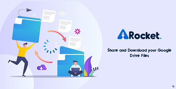 Drive Rocket – Share your Google Drive – PHP Script