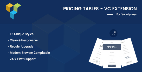 Pricing Tables – VC Addon
